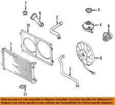 VW VOLKSWAGEN OEM 98-03 Beetle-Engine Water Pump 038121011AX
