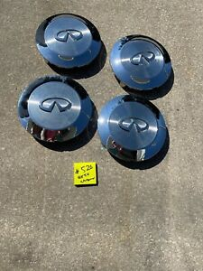 2004 -2007 Infiniti QX56 OEM Chrome Center Caps  40315 7S510    (4)  #526