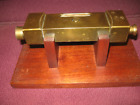 Land Survey Instrument Extremely Rare Antique Gurley Brass Drainage Level