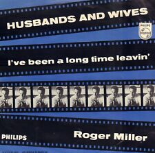 """ROGER MILLER – Husbands And Wives (1966 COUNTRY VINYL SINGLE 7"""" HOLLAND)"""