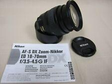 Nikon Af-S Dx Zoom-Nikkor Ed 18-70mm f/3.5-4.5 G If, Hb-32 Hood/Shade