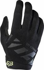 New Fox Racing Ranger Gel Men's Full Finger Glove: Black/Charcoal SM