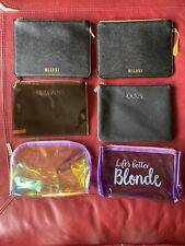 Hudabeauty And 5 Lot Patent And Leather Make Up Bag