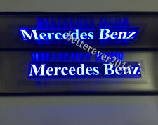 LED Light Illuminated Door Sills Scuff Plate for Mercedes-Benz W210 W211 W212