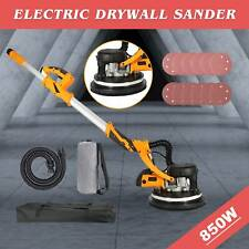 850W Drywall Sander Dual LED Stripe with Integrated Vacuum System Swivel Head