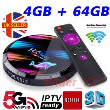 2020 H96 MAX X3 4GB+64GB Android 9.0 TV Box Smart Amlogic S905X3 Dual WIFI BT UK
