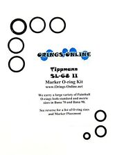 Tippmann SL-68 II Paintball Marker O-ring Oring Kit x 4 rebuilds / kits SL-68 2