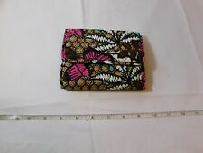 Vera Bradley Euro Wallet Canyon Road 14419-J18 Clutch Wallet Multi-colors NWT