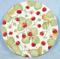 Royal Stafford Alpine Strawberry Salad Plate Fine Earthenware