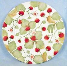 Royal Stafford Alpine Strawberry Salad Plate Fine Earthenware
