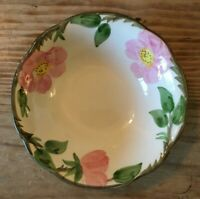 """Franciscan Desert Rose Coupe Cereal BOWL 5 7/8"""" """"Flying F"""" Mark Made in USA"""