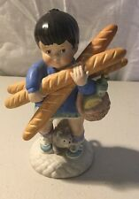 """Vintage 1979 Franklin Mint Porcelain Figurine Collection """"Yvette from France"""""""