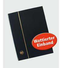 60 weiße Seiten schwarz Einsteckbuch Einsteckalbum Briefmarkenalbum Wattierter E