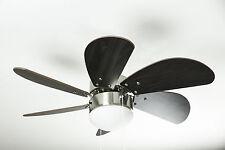 Westinghouse Ventilatore Da Soffitto Turbo Swirl Cromo Parzialmente Opaco 76