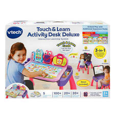 VTech Touch & Learn Activity Desk Deluxe Interactive Learning System - Pink