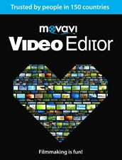 New Release : Movavi  Video Editor 15 , Edit Videos , AVI , MPEG for Windows