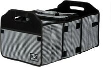 Folding Car Trunk Organizer And Insulated Cooler Set. Handles and 3 Compartments