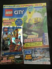 NEW THE LEGO CITY SPECIAL LIMITED EDN MAGAZINE #4 firefighter Fred