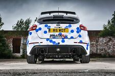 "SSXFD183 - Ford Focus RS Mk3 Milltek 3"" Non Res Cat Back Exhaust -"