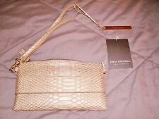 New/Tags! Devi Kroell For Target Gold Metalic Wristlet Removable Strap Retired