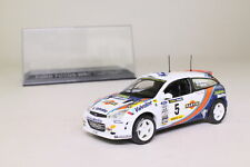 DeAgostini Ford Focus WRC; 2000 Rally Catalunya; McRae & Grist; Excellent Boxed