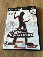 Dance Dance Revolution SuperNova (Sony PlayStation 2, 2006) Game Only BT1