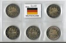 2 euro commemorativo Germania 2010   5 ZECCHE- Municipio di Brema