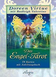 Das Engel-Tarot: Kartendeck von Virtue, Doreen   Buch   Zustand gut