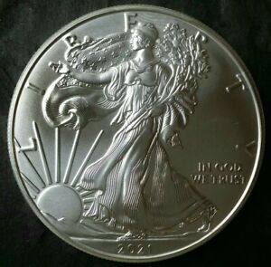 2021 $1 American Silver Eagle Dollar