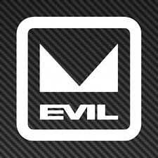 "5"" EVIL logo Vinyl Sticker Decal Car Window Mountain Bike mtb"
