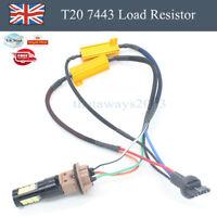 1/2PCS T20 7443 Load Resistor Canceller Brake Signal Turn Light LED  Fast Hyper