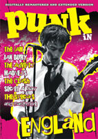 Punk in England DVD (2009) Wolfgang Büld cert E ***NEW*** FREE Shipping, Save £s