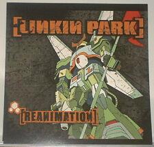 Linkin Park Reanimation 2002 12x12 FLAT/Poster PROMO Chester Bennington no-cd/lp