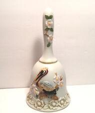 Vintage 1984 Hand Painted Lefton Pelican Bell
