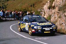 CARLOS SAINZ SUBARU IMPREZA 555 SAN REMO RALLY 1994 fotografia 2