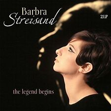 Barbra Streisand Legend Begins Vinyl 2 LP