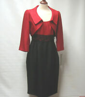 NEW MICHAELA LOUISA DRESS & BOLERO JACKET OCCASION SUIT UK 10 RRP £195