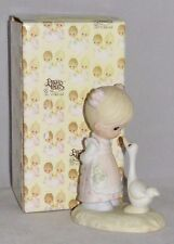 "Precious Moments ""Make a Joyful Noise"" porcelain figurine, 1978, orig. package"