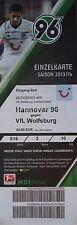 TICKET 2013/14 Hannover 96 - VfL Wolfsburg