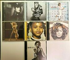 7 CD Lot Of R&B Albums ~ Janet Jackson, Jill Scott,Whitney Houston, Mariah Carey