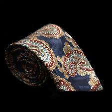 Designer Collection Men's Polyester Neck Tie - Floral, Geometric, Blue, Red, Tan
