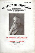 LA PETITE ILLUSTRATION N° 612 - LE PRINCE CHARMANT, par Tristan BERNARD - 1933