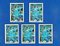 1988 TOPPS BASEBALL 5 CARD LOT #750 BO JACKSON NM-MT K.C. ROYALS   NICE