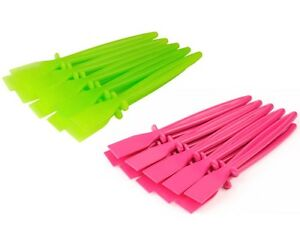 20x Plastic PVA Glue Spreaders 10x Green & 10x Pink Craft Adhesive Paste S7628
