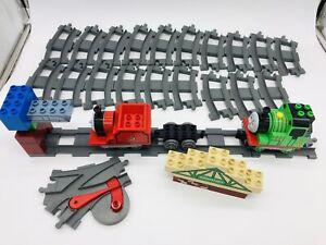 Lego Duplo Thomas & Friends Train Big 44p Lot Tracks Percy James 5556 5552 Parts