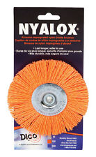 Nyalox Dico  4 in. Dia. Coarse Crimped  Wire Wheel Brush  2500 rpm