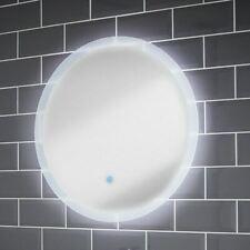 600x600mm Clarity LED Illuminated Bathroom Mirror | Demister Pad