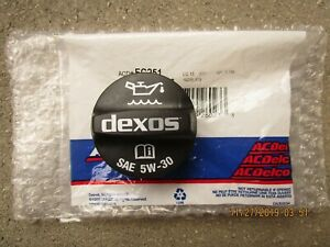 14 - 20 CHEVY TRAX / CHEVY SONIC ENGINE OIL FILLER FLUID CAP OEM BRAND NEW