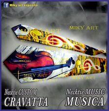 MUSICA MUSIC Necktie Cravatta  Necktie lazo cravate cravată tie Krawatte