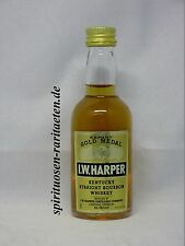 I.W. Harper Gold Medal Export Kentucky Straight Bourbon Whiskey Miniatur